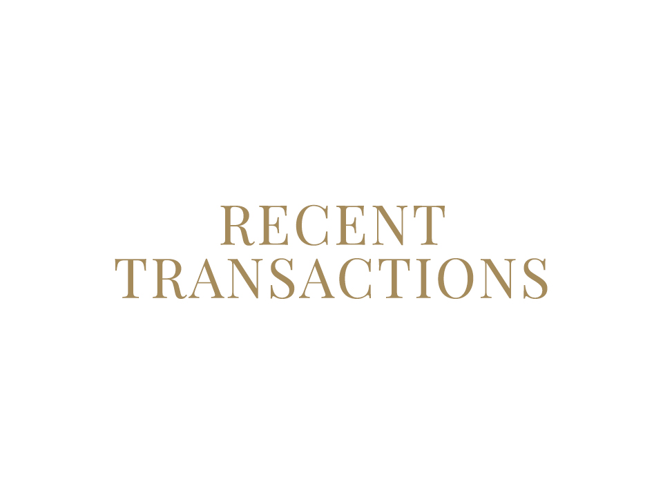 Recent Transactions Link