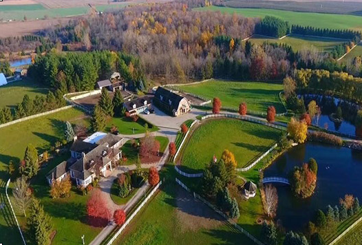 Windsong Acres, home of Farhi Thoroughbreds